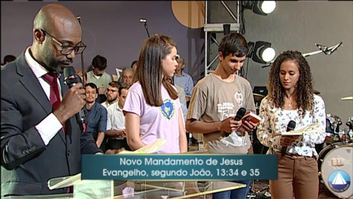 Em Jesus a certeza da vitória - Cruzada do Novo Mandamento de Jesus