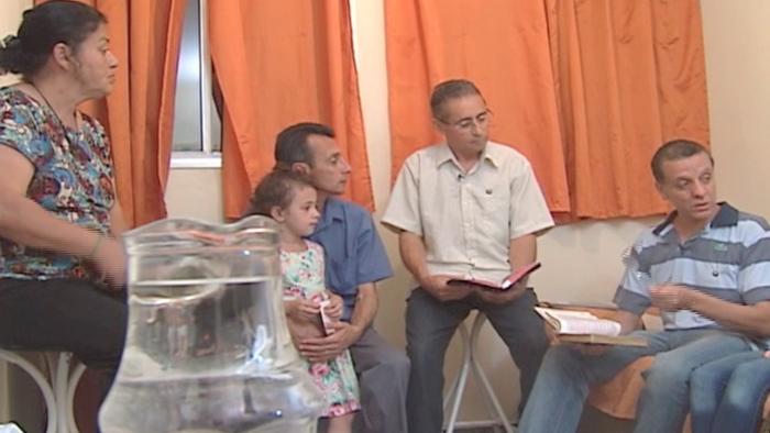 Cruzada no Lar - família Vieira
