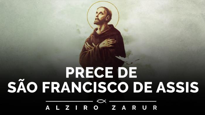 Prece de São Francisco de Assis - orações de Paz