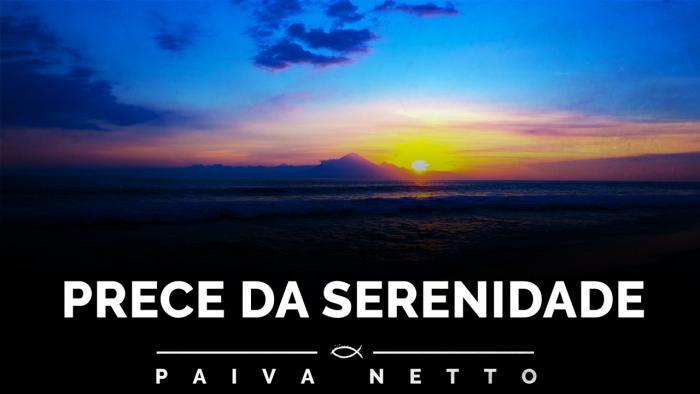 Prece da Serenidade - orações de Paz